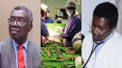 Photo de Kwabena Frimpong, le ghanéen ministre en semaine et chirurgien cardiaque le week-end