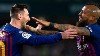 Photo de Lionel Messi : son message émouvant à Arturo Vidal qui quitte le Barça