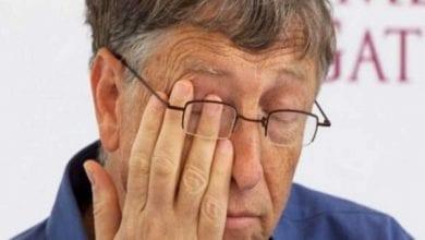 Photo de Bill Gates frappé par un grand malheur (photos)