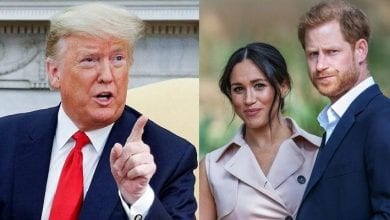 "Photo de USA : Donald Trump s'attaque à Meghan Markle et souhaite ""bon courage"" au prince Harry"