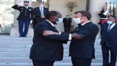 Photo de Côte d'Ivoire/Alassane Ouattara reçu par Macron: ce qu'ils se sont dit