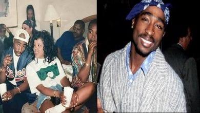 Photo de L'histoire triste cachée derrière cette photo de Tupac entouré d'amis proches devenus ennemis