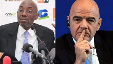 """Photo de Fonds d'aide """"Covid-19"""" : Sidy Diallo réclame plusieurs millions de FCFA à Infantino !"""