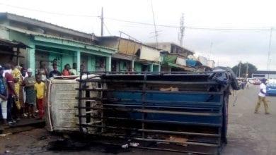 Photo de Côte d'Ivoire/ Yopougon : un véhicule de la gendarmerie incendié par des individus non identifiés !