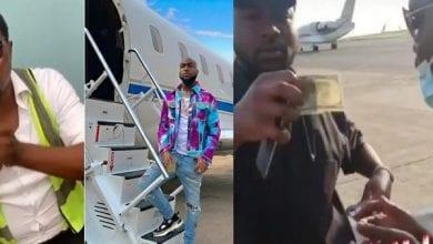 Photo de Nigeria : un employé d'aéroport « suspendu » pour avoir « demandé de l'argent à Davido » (vidéo)