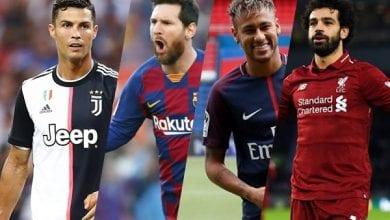 Photo de Forbes: voici le top 10 des footballeurs les mieux payés en 2020. Kylian Mbappé est 4e