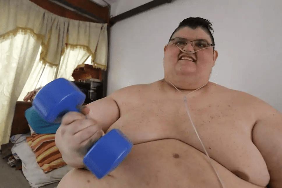 L'ancien '' homme le plus gros du monde'' a vaincu le coronavirus