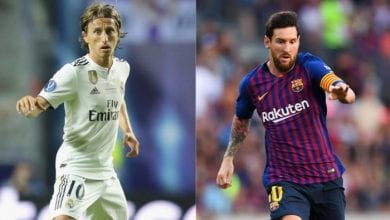 Photo de Luka Modric : « le départ de Messi permettra à d'autres joueurs de devenir des stars »
