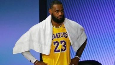 Photo de NBA : LeBron James très en colère après le vote du MVP
