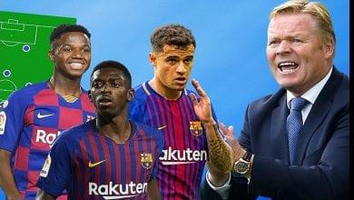 Photo de Barça: sans Dembélé et Ter Stegen, voici le onze de Koeman qui devrait débuter la liga face à Villareal