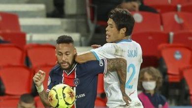 """Photo de PSG-OM : Neymar accusé d'avoir traité Sakai de """"Chinois de merde"""""""
