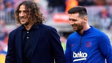 Photo de Barça : Carles Puyol réagit au retour de Lionel Messi à l'entraînement