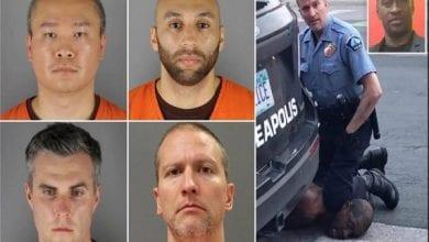 Photo de George Floyd : les quatre policiers impliqués dans son meurtre se retournent les uns contre les autres