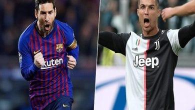 Photo de Juventus vs Barcelone : Lionel Messi envoie un message à Cristiano Ronaldo