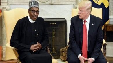 Photo de Donald Trump testé positif au coronavirus, le président nigérian lui adresse un message