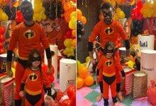 Photo de Mohamed Salah se déguise en super-héros pour célébrer l'anniversaire de sa fille (photos)