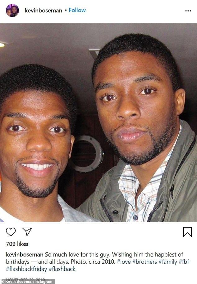 Chadwick Boseman: ses frères parlent des derniers jours de l'acteur