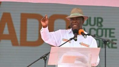 """Photo de Dabou / Ouattara accuse : """"Des miliciens ont été mobilisés par Guillaume Soro pour créer du désordre"""""""