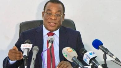 """Photo de Affi N'guessan prévient : """"  Nous ne céderons pas à la dictature. Quand Abidjan va bouger, le fruit va tomber… """""""