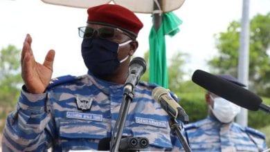 """Photo de Le Général Apalo Touré prévient : """"nous militaires, nous avons des armes et on peut rester à Akouédo, tirer là et ça va tomber à Dabou""""."""