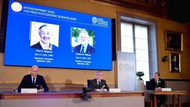 Photo de Prix Nobel d'économie : les Américains Paul R. Milgrom et Robert B. Wilson, récompensés