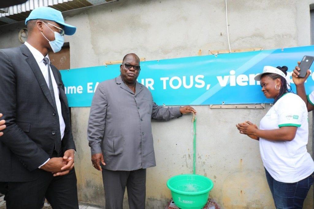 Côte d'Ivoire : la SODECI lance un vaste programme d'adduction d'eau potable dans tout le pays