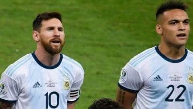 Photo de Lautaro Martinez : « Aujourd'hui, Lionel Messi s'est suicidé »