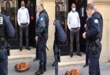 Photo de France : La police choquée de voir un « sacrifice » devant l'ambassade du Nigeria (Vidéo)
