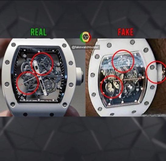Peter Okoye accusé d'avoir porté une fausse montre de marque