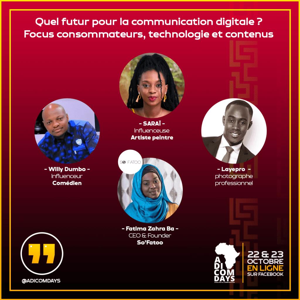 """4ème édition des ADICOMDAYS : ''quel futur pour la communication digitale en Afrique ?"""""""
