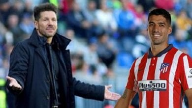 Photo de Atletico Madrid: Quand Diego Simeone encense Luis Suarez