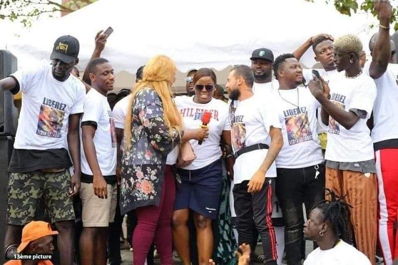 Manifestion à Abidjan pour la libération de Sidiki Diabaté, Général Makosso, Yvidero ... sont de la partie - Photos