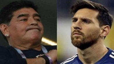 Photo de La réaction de Maradona sur les problèmes entre Messi et le Barça