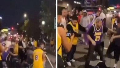 Photo de NBA – Un homme insulte Kobe Bryant et reçoit une bastonnade dans la rue (Vidéo)