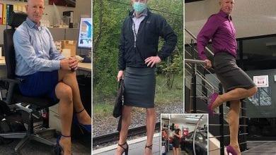 Photo de Mark Bryan : l'homme qui s'habille comme une femme depuis plus de 4 ans (vidéo)