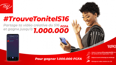 "Photo de itel lance le challenge #TrouveTonitelS16, récompense ""1.000 000 F CFA"""