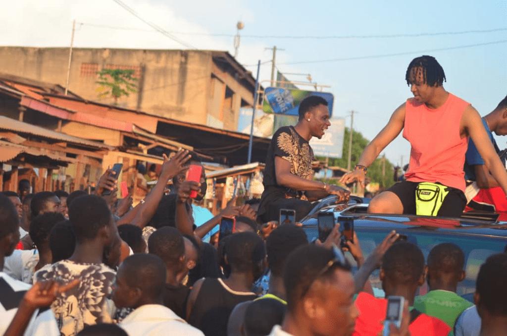 Abengourou : une forte pluie fait capoter un concert de Safarel Obiang !