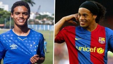 Photo de Découvrez Joao Mendes, le fils de Ronaldinho qui vient de signer son premier contrat pro