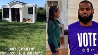 Photo de LeBron James : il offre une maison à sa fille pour son 6e anniversaire (vidéo)