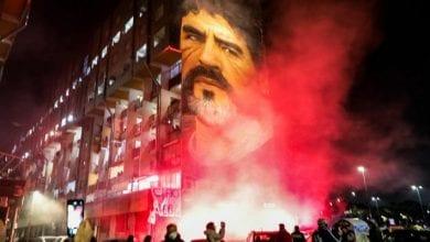 Photo de Décès de Maradona : Voici comment Naples a décidé d'honorer sa légende !