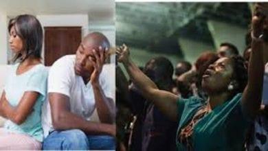 Photo de «Ma copine est accro à témoigner à l'église» se plaint un homme