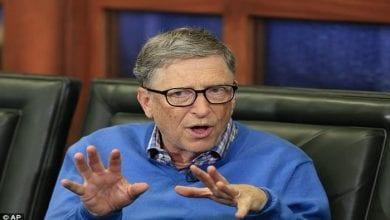 Photo de Bill Gates détrôné de la deuxième place d'homme le plus riche du monde