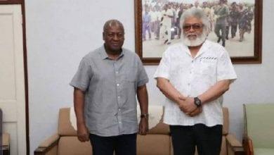 Photo de Décès de J.J Rawlings : l'ancien président Dramani Mahama empêché de signer le livre de condoléances