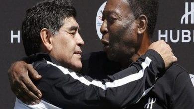 Photo de Décès de Diego Maradona : l'hommage touchant de Pelé