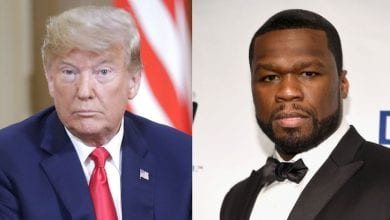 Photo de 50 Cent : sa réaction lorsqu'on lui propose 1 million de dollars pour soutenir Trump