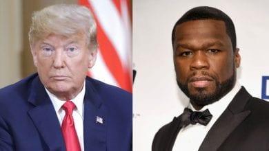 Photo de 50 Cent : sa réaction lorsqu'on lui propose 1 million de dollars pour soutenir Trump