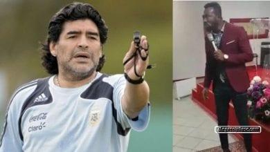 Photo de Un prophète ghanéen aurait prophétisé la mort de Maradona – VIDEO