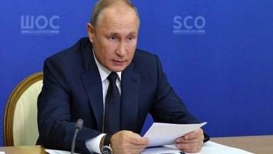 Photo de Vladimir Poutine : « Tous nos vaccins contre le coronavirus sont efficaces »