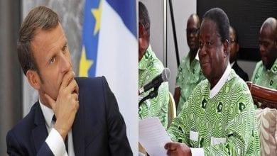 """Photo de Candidature de Ouattara """"par devoir""""/ Le PDCI dit ses 4 vérités à Emmanuel Macron"""
