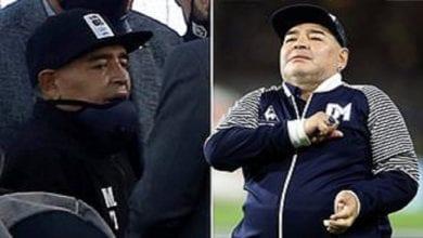 Photo de Diego Maradona hospitalisé quelques jours après son 60e anniversaire